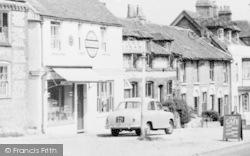 Alresford, Pound Hill, Cafe c.1960