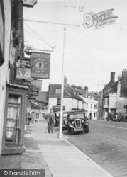 Alresford, The Bell Hotel c.1950