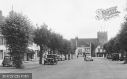 Alresford, The Church And Broad Street c.1950