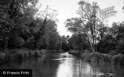 Alresford, The River Itchen c.1955