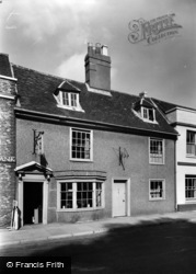 Alresford, The Tea Parlour c.1955