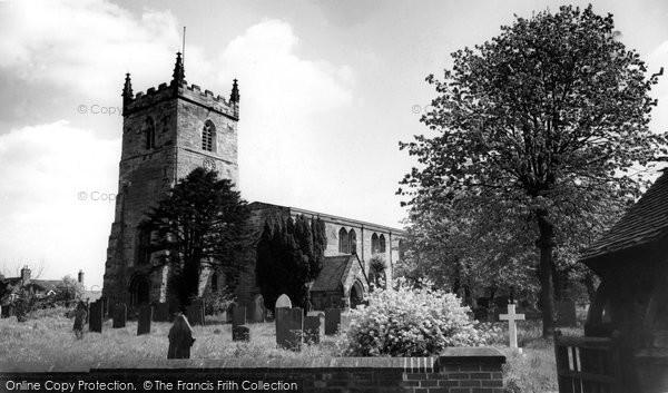 Photo of Alrewas, All Saints Church c.1965