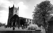 Alrewas, All Saints Church c1965