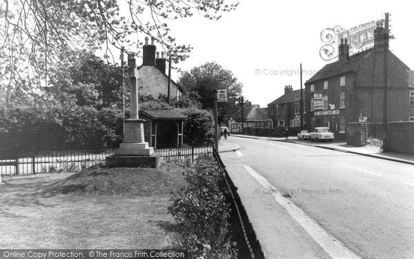 Photo of Alrewas, Main Road c.1965