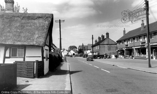 Alrewas, Main Road c.1965