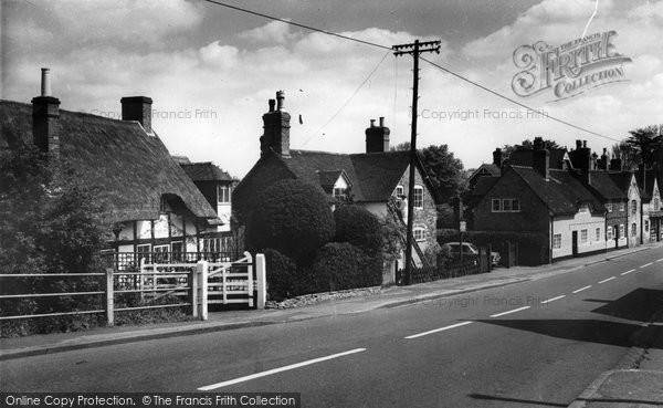Photo of Alrewas, The Village c.1965