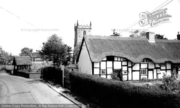 Photo of Alrewas, The Village c.1965