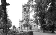 Alsager, Christ Church c.1955