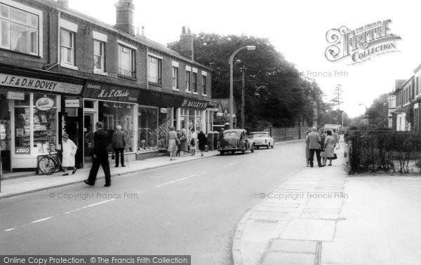 Alsager, Crewe Road c.1960