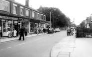 Alsager, Crewe Road c1960