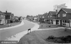 Alsager, Eaton Road c.1965
