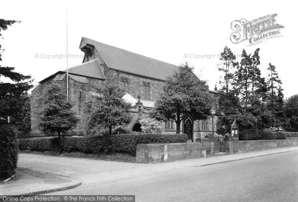 Photo of Alsager, St Mary's Church c.1955