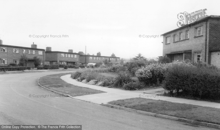 Photo of Alsager, The Estate c.1965
