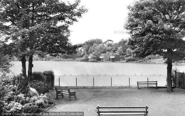 Photo of Alsager, The Mere c.1955