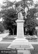 Alsager, War Memorial c1965