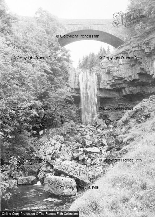 Photo of Alston, Ashgill Falls c.1950