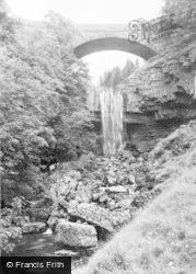 Ashgill Falls c.1950, Alston