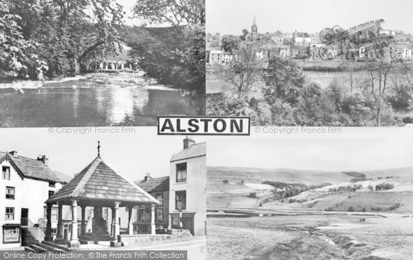 Photo of Alston, Composite c.1950