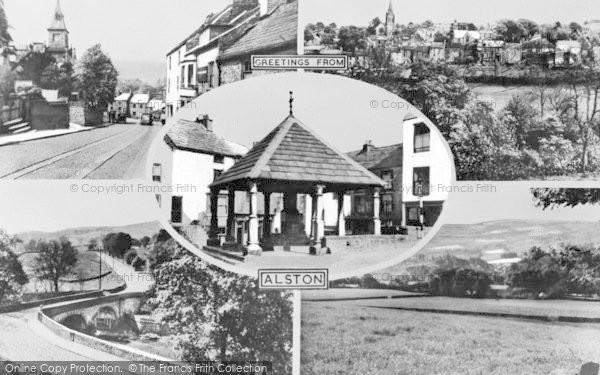 Photo of Alston, Composite c.1960