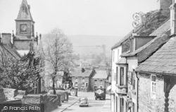 Alston, Front Street And Town Hall c.1950