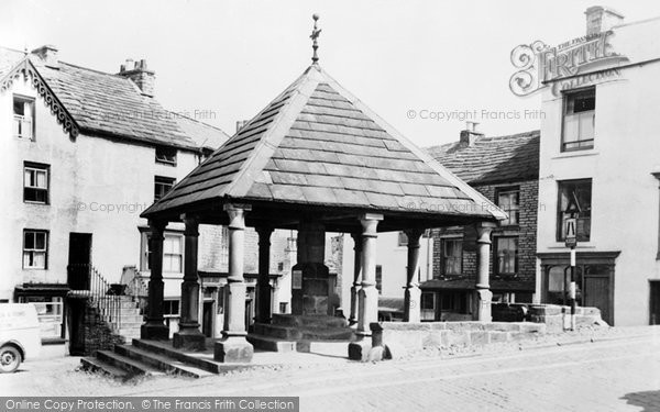 Photo of Alston, Market Cross c.1950