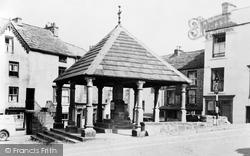 Market Cross c.1950, Alston