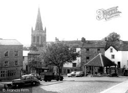 Market Cross c.1960, Alston