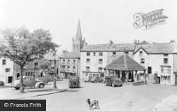 Market Square c.1950, Alston