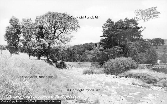 Photo of Alston, The River Net c.1950