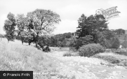Alston, The River Net c.1950