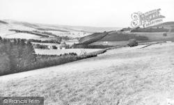 Alston, The South Lyne Valley c.1955