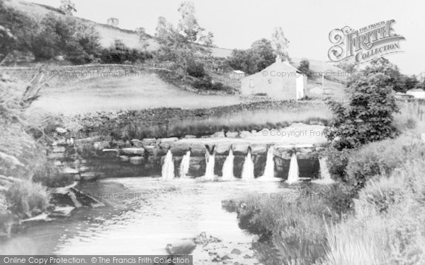 Photo of Alston, The Waterfall c.1960