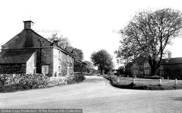 Photo of Alstonefield, The Village c.1955