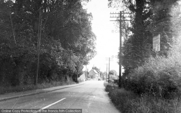 Photo of Althorne, Burnham Road c.1955