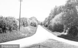 Althorne, Station Road c.1955