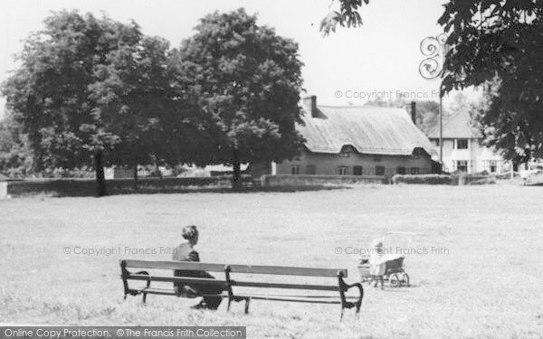 Photo of Alton, A Toddler At The Butts c.1955