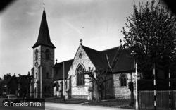 Alton, All Saints Church c.1955