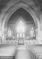 All Saints Church, Nave And Chancel 1897, Alton