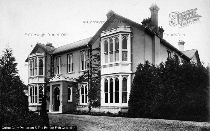 Photo of Alton, Anstey Manor 1897