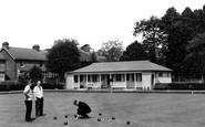 Alton, Bowling Green c.1955