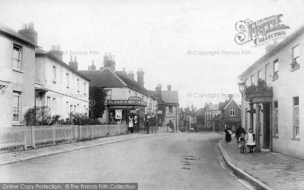 Photo of Alton, Butts Road And High Street 1907