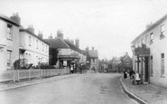 Alton, Butts Road And High Street 1907