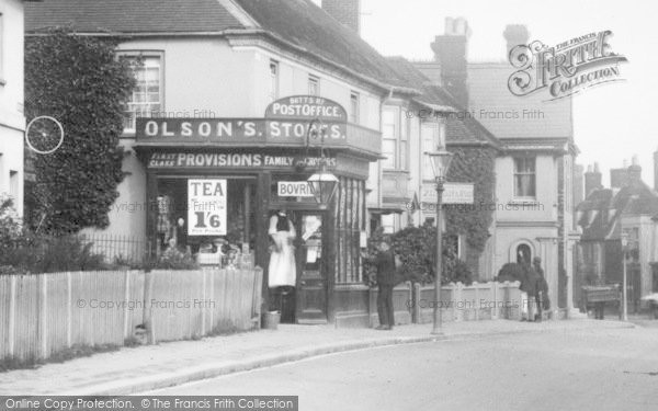 Photo of Alton, Butts Road Post Office 1907