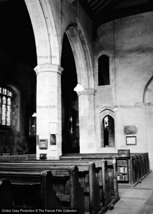 Photo of Alton, Church Of St Lawrence Interior c.1950