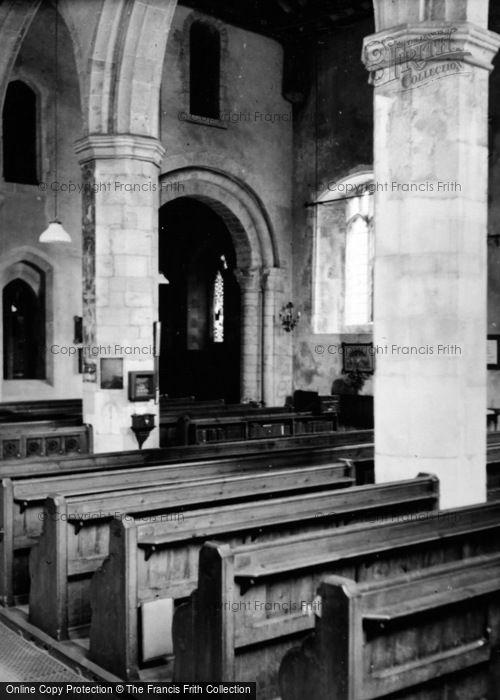 Photo of Alton, Church Of St Lawrence Interior c.1950