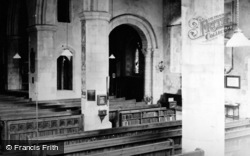Church Of St Lawrence Interior c.1950, Alton