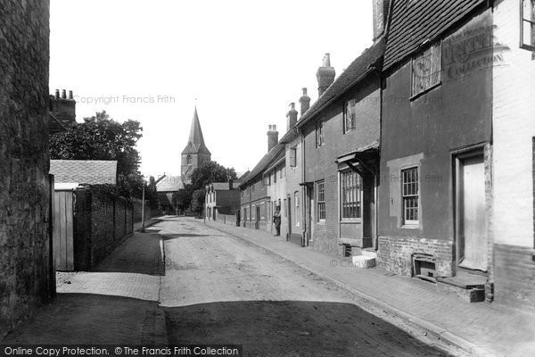 Alton, Church Street 1898