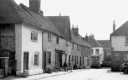 Alton, Church Street c.1955