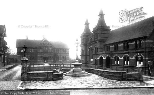 Photo of Alton, Crown Close 1897