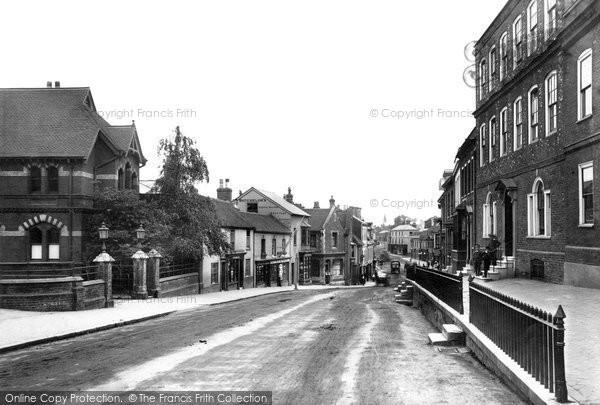 Photo of Alton, Crown Hill 1898